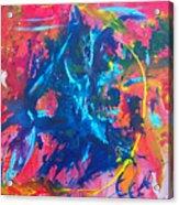 L A  G A R G O L A Acrylic Print by Azul Fam