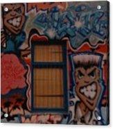 L A Urban Art Acrylic Print
