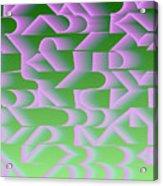 l13-FF9DEC-4x3-2000x1500 Acrylic Print