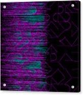 l14-FF00DD-3x3-1200x1200 Acrylic Print