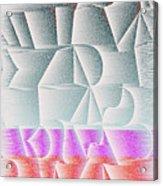 l15-EEEFFF-2x4-1200x2400 Acrylic Print