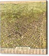 La Antique Map Acrylic Print