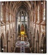 La Basilica Quito Acrylic Print