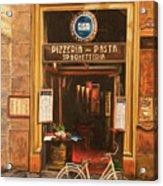 La Bicicletta Acrylic Print