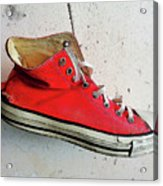 The Artists Boot Acrylic Print