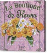 La Botanique 1 Acrylic Print