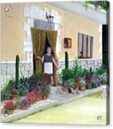 La Casa De Nonna Loreta Acrylic Print