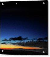 la Casita Playa Hermosa Puntarenas Costa Rica - Sunrise A One Acrylic Print by Felipe Adan Lerma