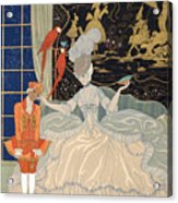 La Comtesse From Personages De Comedie Acrylic Print