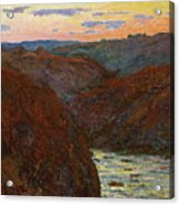 La Creuse, Sunset Acrylic Print