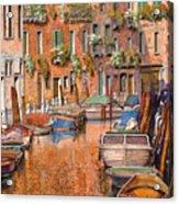 La Curva Sul Canale Acrylic Print