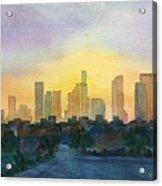 Crack Of Dawn Acrylic Print