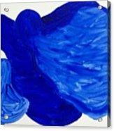 La Famille Bleue Acrylic Print