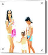 La Famille Acrylic Print