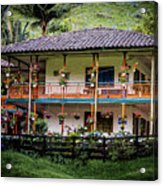 La Finca De Cafe - The Coffee Farm Acrylic Print