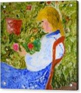 La Fleuriste Acrylic Print