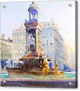 La Fontaine Des Jacobins Acrylic Print
