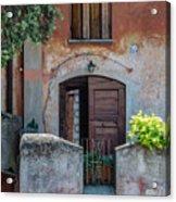 La Fraschetta Del Borgo Acrylic Print