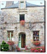La Gacilly, Morbihan, Brittany, France, Shop Acrylic Print