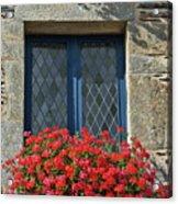 La Gacilly, Morbihan, Brittany, France, Window Acrylic Print