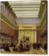 La Galerie Campana Acrylic Print by Charles Giraud