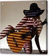 La Guitarista 2 Acrylic Print