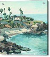La Jolla Cove In December, La Jolla, San Diego, California Acrylic Print