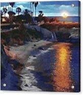 La Jolla Pools Acrylic Print