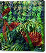 La Jungla #1 Acrylic Print