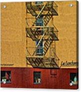 La Lunchonette Acrylic Print