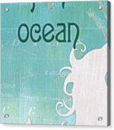 La Mer Mermaid 1 Acrylic Print