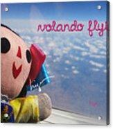 La Mexicanita Flying Acrylic Print