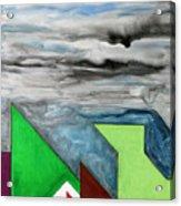 La Notte Sopra La Citta Verde - Part II Acrylic Print