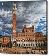 La Piazza Acrylic Print