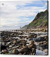 La Piedra Shore Malibu Dusk Acrylic Print
