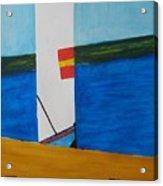 La Playa - The Beach. Acrylic Print