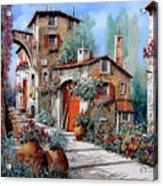 La Porta Rossa Acrylic Print