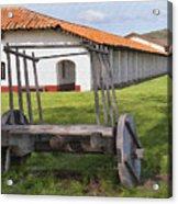 La Purisima Arches Acrylic Print