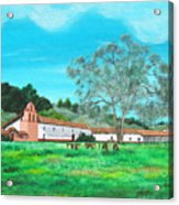 La Purisima Mission Acrylic Print
