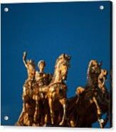 La Quadriga De L'aurora Acrylic Print