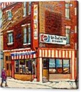 La Quebecoise Restaurant Deli Acrylic Print