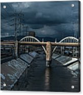 Los Angeles River Autumn 2015 Acrylic Print