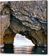 La Roca Foradada - Of L'estartit Acrylic Print