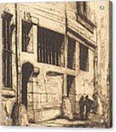 La Rue Des Mauvais Gar?ons, Paris (the Street Of The Bad Boys) Acrylic Print