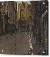 La Rue St Jacques Dieppe Acrylic Print