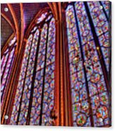La Sainte-chapelle Acrylic Print