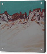 La Sal Mountains Acrylic Print