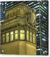 La Salle Street Bridge Control Tower 3 Acrylic Print