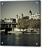 La Seine I Acrylic Print