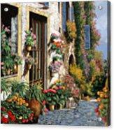 La Strada Del Lago Acrylic Print